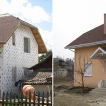 Легострой+Крыша Mystique Redwood+Подшивка алюминиевая Kaycan. Частный дом п. Кошница.