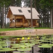 Крыша из кедра