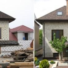 Легострой+Everest Autumn Brown частный дом г.Кишинев