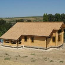 Кедровая крыша Частный дом п.Гидигич