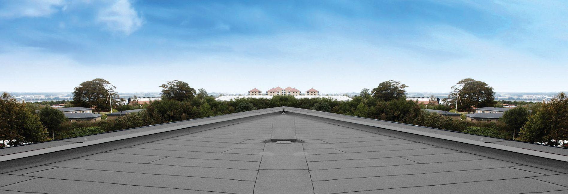 Шапка плоская крыша